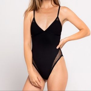 NWT l space Halle one piece
